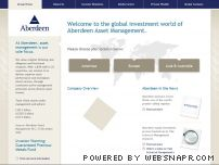 aberdeen-asset.com - Home - Aberdeen Asset Management - Global investment management for institutions and individuals