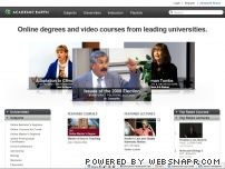 academicearth.org - Academic Earth | Online Courses | Academic Video Lectures