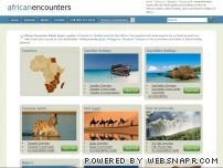 africanencounters.com - Beach & Safari Holidays in Africa: Tour Egypt | Kenya | Zanzibar | Tanzania >> - African Encounters