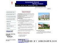 agmp.nic.in - Accountants General, Madhya Pradesh