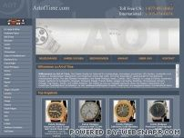 artoftime.com - ArtOfTime.com - Home Page - Watches - Rolex - Cartier - Chanel - Omega