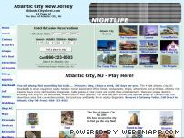 atlanticcitysbest.com - Atlantic City Guide. Atlantic City NJ Hotel and Casinos. Vacation and Travel Information featuring Atlantic City NJ Travel and tourism Guide