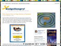 badgehungry.com - BadgeHungry - Pogo fan site, free Pogo tokens, Pogo badges