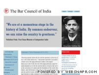 barcouncilofindia.org - Welcome to Bar Council of India