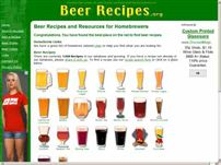 beerrecipes.org - Beer Recipes and Resources for Homebrewers. All-Grain, Extract, and Partial Mash Recipes