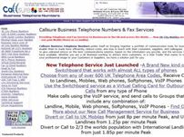 callsure07050.co.uk - UK & International Business Telephone & Fax Numbers