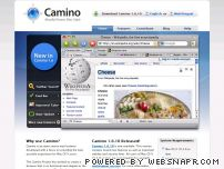 caminobrowser.org - Camino. Mozilla Power, Mac Style