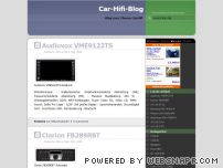 car-hifi-blog.de - CarHifi, CarTuning, CarStyling Blog. Das Blog rund ums Auto. Tuning, Styling, Sound.