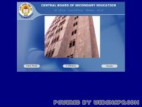 cbse.nic.in - Welcome to Central Board of Secondary Education