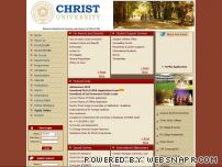 christuniversity.in - Welcome to Christ University, Bangalore!