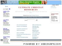 chritech.com - An Ultimate Christian Resource Center. Christian Websites. Christian Chat  Rooms, Search Engine and Christian News.