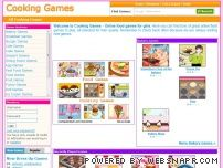 cooking-games.biz - Cooking Games - Online food games for girls