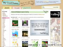 coolchaser.us - My Coolchaser: MySpace Layouts, Cool Layouts for MySpace, MySpace Backgrounds, Hi5 Layouts, My Year Book Layouts
