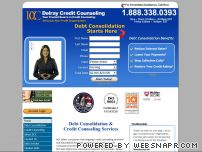 delraycc.com - Debt Consolidation : Consolidate your credit card debt without loans
