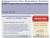 donateacar.com - America's Car Donation Center - Donate your Car, Auto, Vehicle to Charity