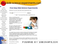 easy-kids-science-experiments.com - Easy Kids Science Experiments