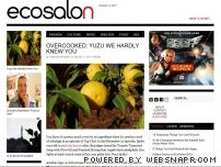 ecosalon.com - EcoSalon | Green News, Wellness, Fashion & Decor