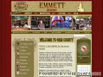 emmettidaho.com - Gem County Chamber of Commerce Home Page | Welcome to Gem County