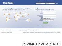 bienvenido a facebook en espa ol espa a