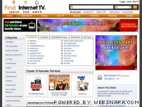findinternettv.com - Find Internet TV - Search. Find. Watch.