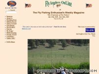 flyanglersonline.com - Fly Anglers OnLine, Your Complete Internet Flyfishing Resource.
