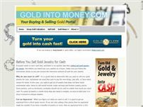 goldintomoney.com - Sell Scrap Gold, Silver, and Jewelry for Cash and Money.  Buying Gold Coins, Bullion, Gold Chains and more