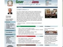 governo.it - Governo Italiano: Home page
