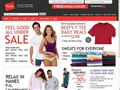 hanes.com - Men's, Women's and Kids' Clothing | Bras, panties, T-shirts, underwear and socks | Hanes.com