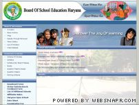 hbse.nic.in - Welcome to Board of School Education Haryana