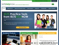 ieltshelpnow.com - IELTS practice tests | IELTS exam practice  from IELTS Help Now