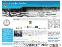 indianchessfed.org - All India Chess Federation