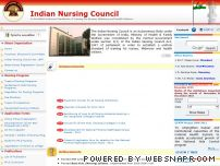 indiannursingcouncil.org - Indian Nursing Council, Official indian nursing council website, Government India, Establish Uniforms Standards, Training Nurses, Midwives, Health Visitors