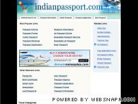 indianpassport.com - Indianpassport.com: The Leading Passports Site on the Net