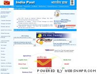 indiapost.gov.in - Welcome to the Indiapost Web Site