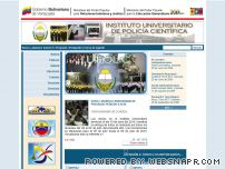 iupolc.edu.ve - Instituto Universitario de Policia Científica
