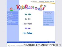 kidzplace.org - Home - KidzPlace.org