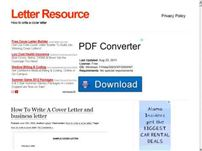 letter-resource.com - Letter Resource