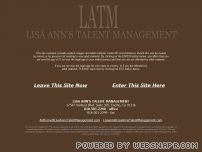 lisaannstalentmanagement.com - Lisa Ann's Talent Management