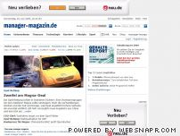 manager-magazin.de - Home - manager-magazin.de
