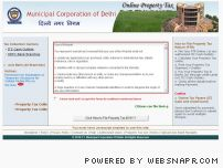 mcdpropertytax.in - Property Tax Delhi