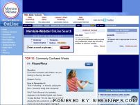 merriam-webster.com - Dictionary and Thesaurus - Merriam-Webster Online