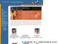 mptechedu.org - Directorate Technical Education, Bhopal, Madhya Pradesh