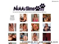nikkisims.org - NikkiSims.org - Free Pictures, Videos & Webcam Of Nikki Sims!