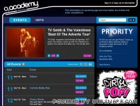 o2academynewcastle.co.uk - Concert Dates and Tickets |  O2 Academy Newcastle