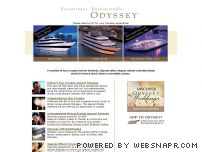 odysseycruises.com - Odyssey Dinner, Lunch and Brunch Cruises in Boston, Chicago and Washington DC