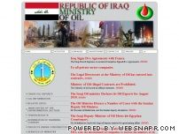 oil.gov.iq - REPUBLIC OF IRAQ - MINISTRY OF OIL