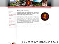 pinotage.co.za - Pinotage Association