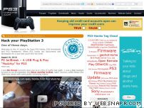 ps3-hacks.com - PS3 Hacks – Hacks, Cracks, Mods, Homebrew, Utilities. Hack Sony Play Station Portable