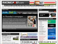 racingpost.co.uk - UK Horse racing from Newmarket, Cheltenham, Catterick - Results - Race Cards - Horse Racing Tips & News | Racing Post