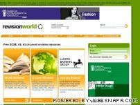 revisionworld.co.uk - Revision World | Free online revision guides to help you pass your GCSE and A-Level exams